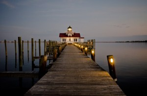 I must admit this is one of my personal favorites. The lighting was just right to create a subdued yet gorgeous shot of the Roanoke Marshes Lighthouse in Manteo, North Carolina. Without the need for any special enhancements, this photo seems to magically acquire the appearance of a fine painting. Taken November 22, 2010.